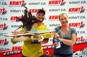 KRWT 2016 Champions – Jason and Andrea Robichaud.